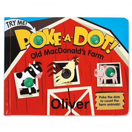 Personalized Poke-A-Dot Book by Melissa & Doug®