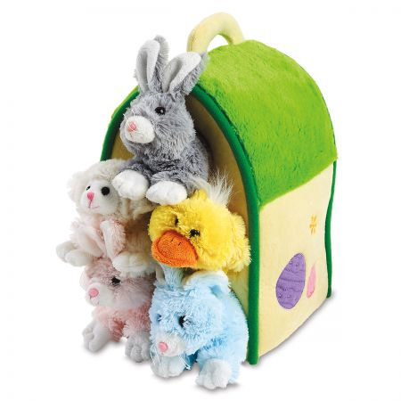 Personalized  Plush Easter House