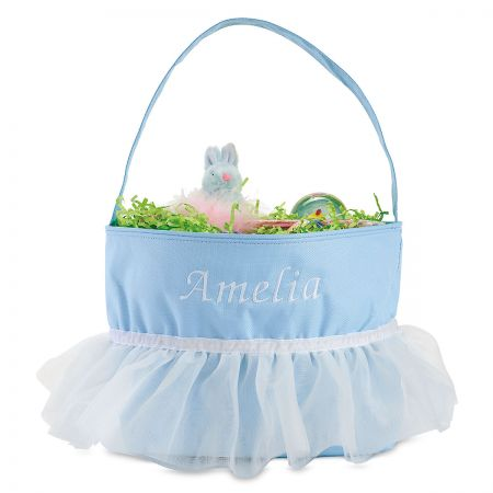Personalized Tutu Easter Baskets
