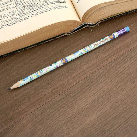 #2 Personalized Hardwood Pencils - Mermaid Magic