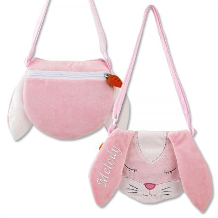Personalized Bunny Purse