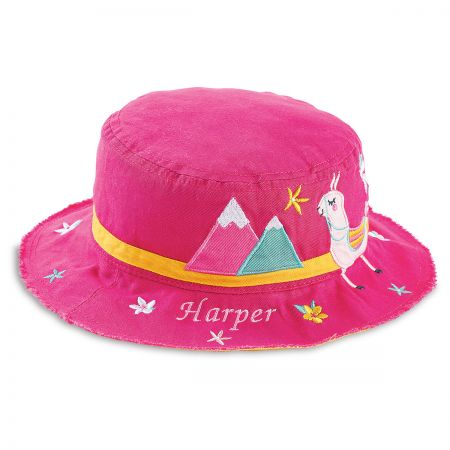 Personalized Llama Bucket Hat by  Stephen Joseph®