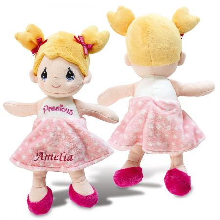 Personalized Precious Moments Polly Plush Doll