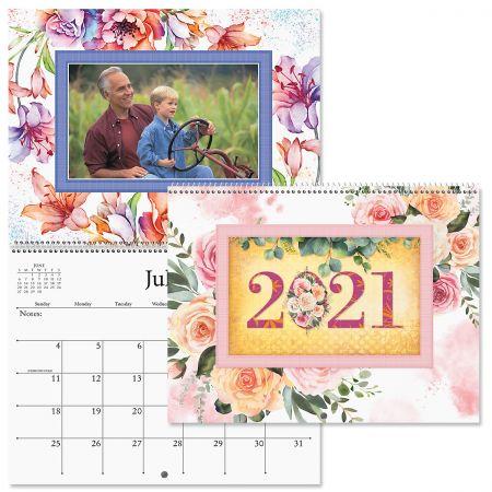 2021 Floral Photo-Insert Calendar