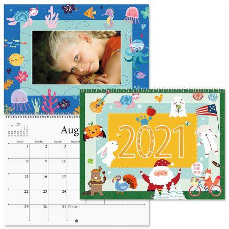 2021 Graphic Photo-Insert Calendar