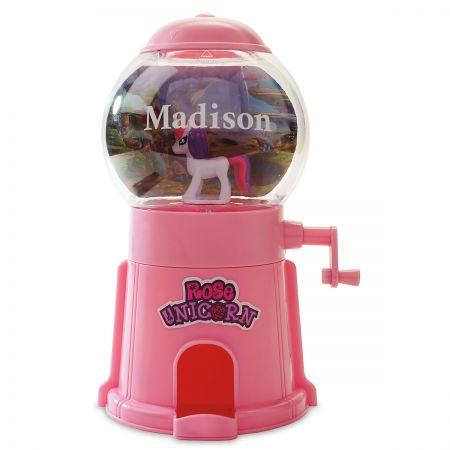 Unicorn Personalized Gumball Machines