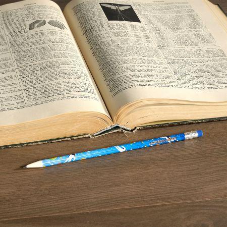 #2 Personalized Hardwood Pencils - Astronauts