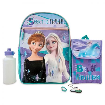 Personalized 5 in 1 Frozen Backpack Set
