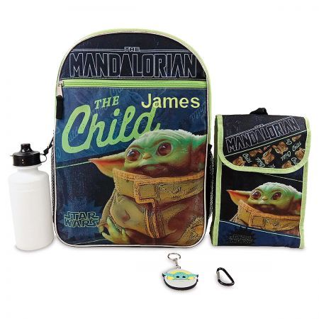 Personalized Baby Yoda 5 in 1 Backpack