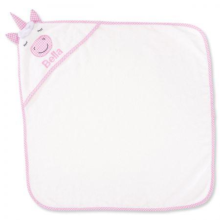 Unicorn Hooded Animal Personalized Towel