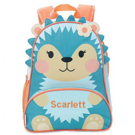 Personalized Hedgehog Sidekick Backpack