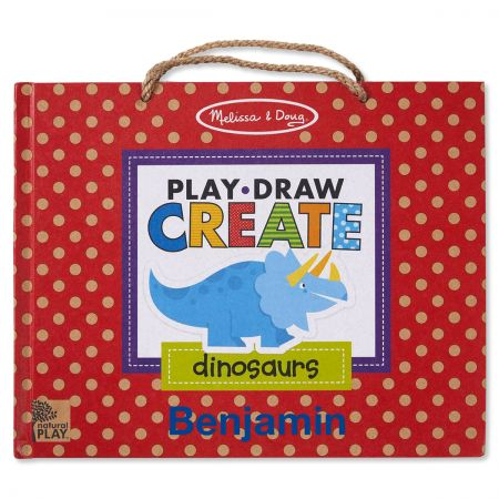 Personalized Draw, Create, and Play Dinosaur