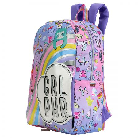 Doodle Girl Sloth & Squad Personalized Backpack
