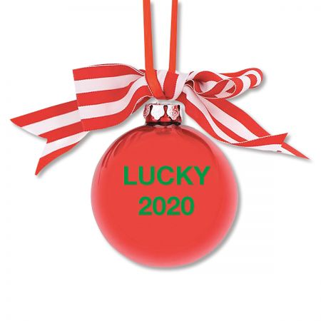 Personalized Pawprint Ornament