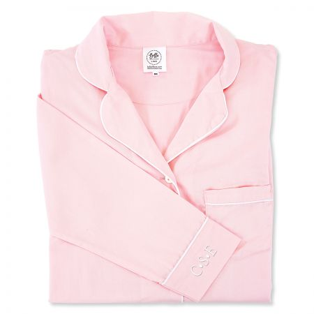 Personalized Button Down Sleep Shirt