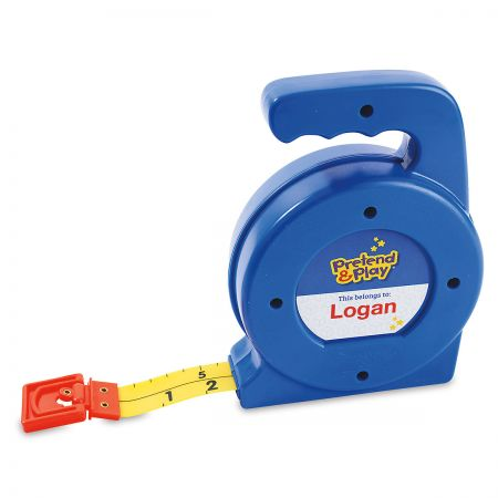 Personalized Pretend & Play Tape Measure