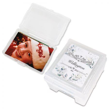 Personalized Photo Storage Box