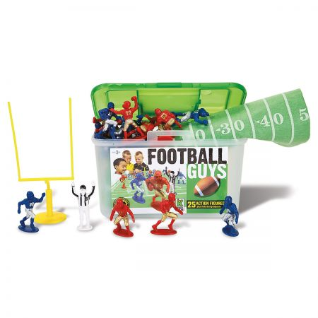Football Guys Action Figures-in-a-Case
