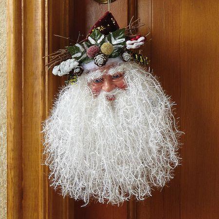 Santa Beard Door Hanger