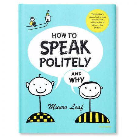 How to Speak Politely and Why Manners Book