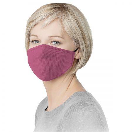 Pink Reusable Face Mask & Replacement Filters