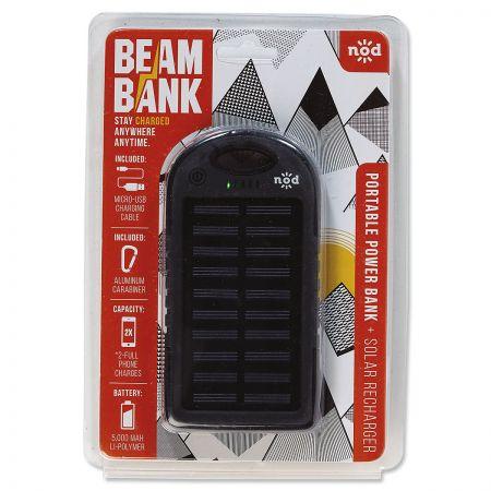 Solar-Powered Beam Bank