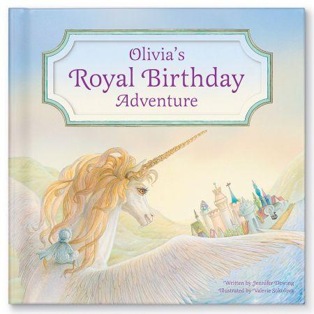 My Royal Birthday Unicorn Adventure Children's Book