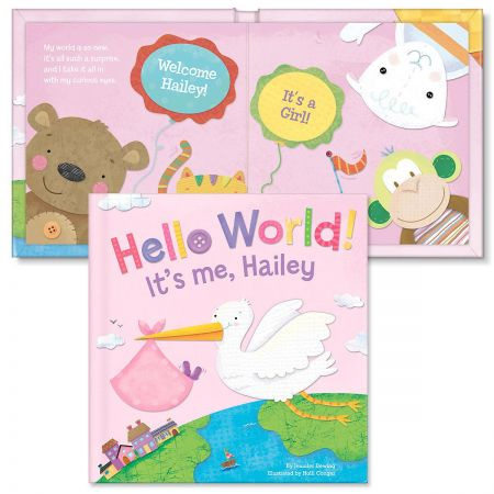 Hello World! Personalized Storybook for Girls