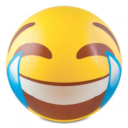 Giant Emoji Tears of Joy Beach Ball