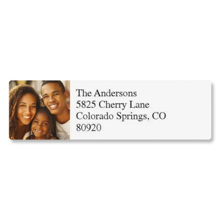 Direct Classic Personalized Photo Address Label