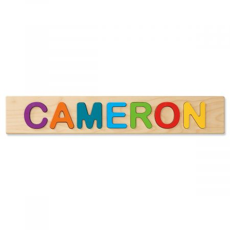 eae1bedb Personalized Wooden Name Puzzle | Lillian Vernon