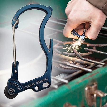 Flint Multi-Tool Carabiner