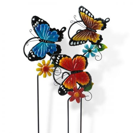 Metal Butterfly Stakes