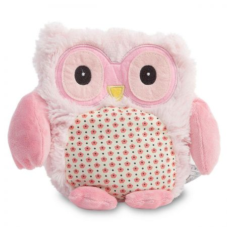 Pink Owl Hooty Heatable