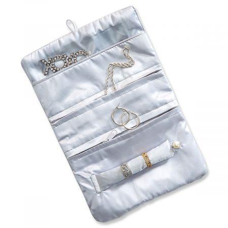 Zig-Zag Jewelry Roll Organizer