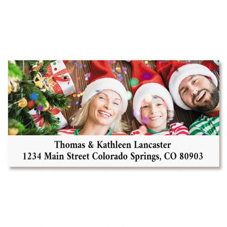 Direct Deluxe Personalized Photo Address Label