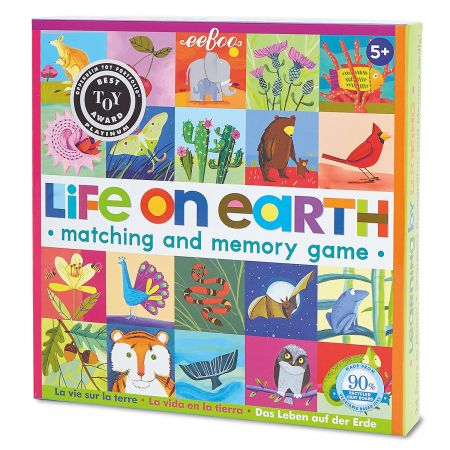 Life on Earth Matching Game by eeBoo