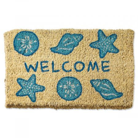 Shells Welcome Doormat