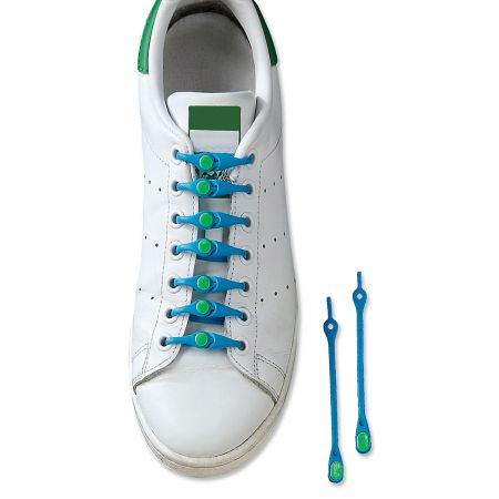 Blue Shoe Lacing System from Hickies®
