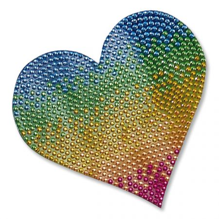 Rainbow Heart StickerBean™