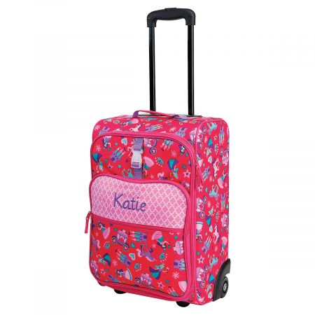 "All-Over Princess Print 22"" Rolling Travel Luggage by Stephen Joseph®"
