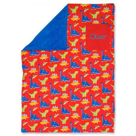 Stephen Joseph® Personalized Toddler Dino Blanket