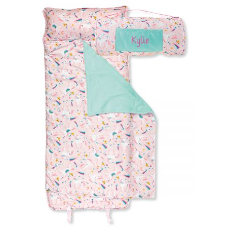 Personalized All-Over Unicorn Print Nap Mat by Stephen Joseph®