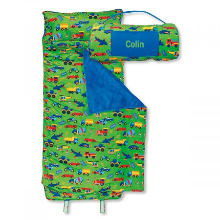 All-Over Transportation Print Nap Mat by Stephen Joseph®