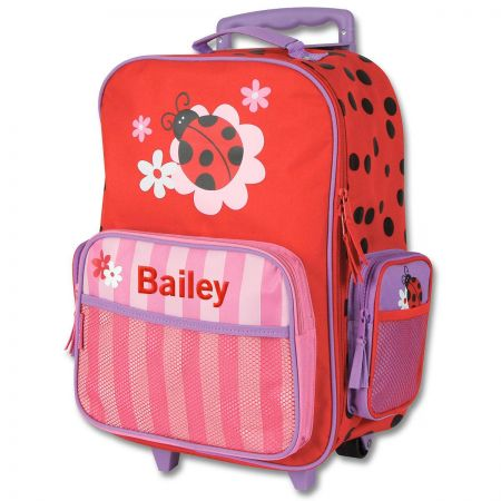"""Ladybug 18"""" Rolling Luggage by Stephen Joseph®"""