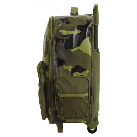 """Green Camo 18"""" Rolling Luggage by Stephen Joseph®"""
