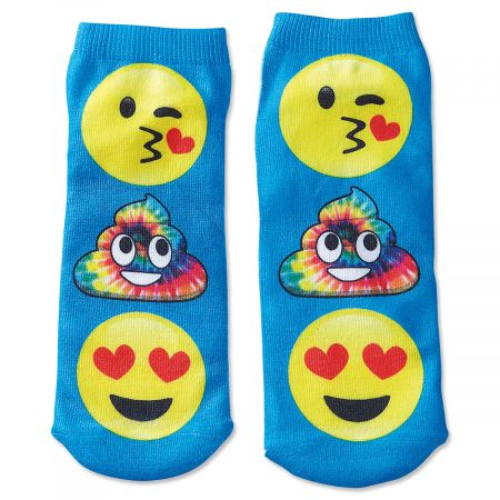Emoji Poop Ankle Socks Pair