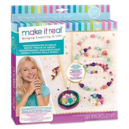 Mermaid Treasure DIY Jewelry Kit