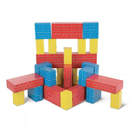 Deluxe Jumbo Cardboard Blocks by Melissa & Doug®