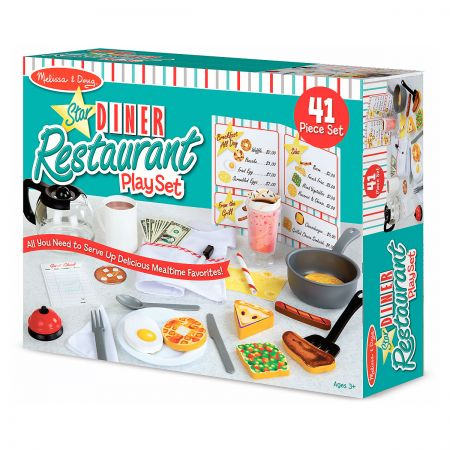 Star Diner Restaurant Play Set by Melissa & Doug®